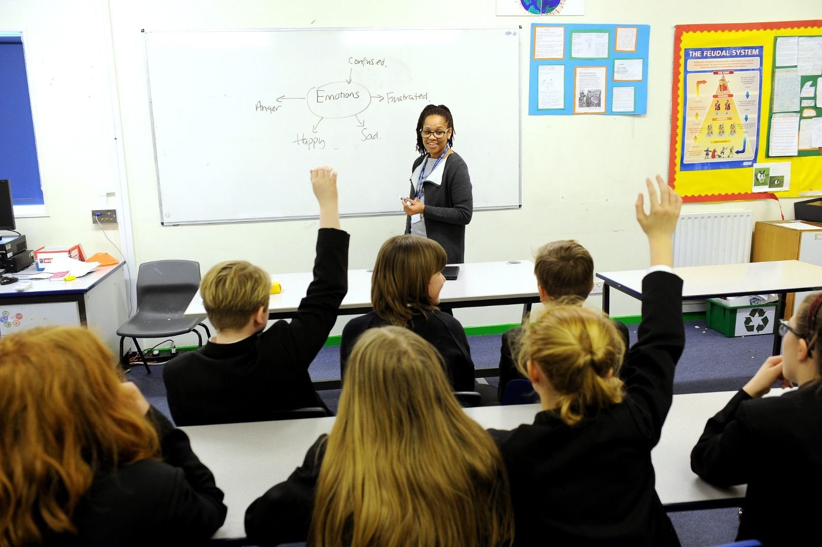 School Nurse delivering a teaching session